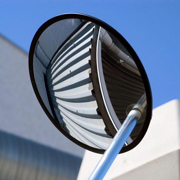 inspektionsspejl i luften
