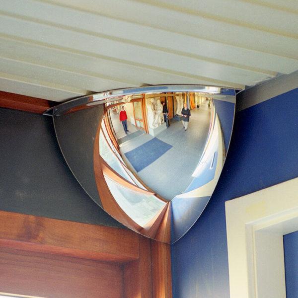 kvart indendørsspejl