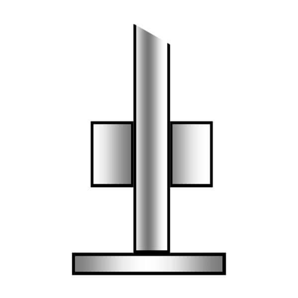 galvaniseret rørstander