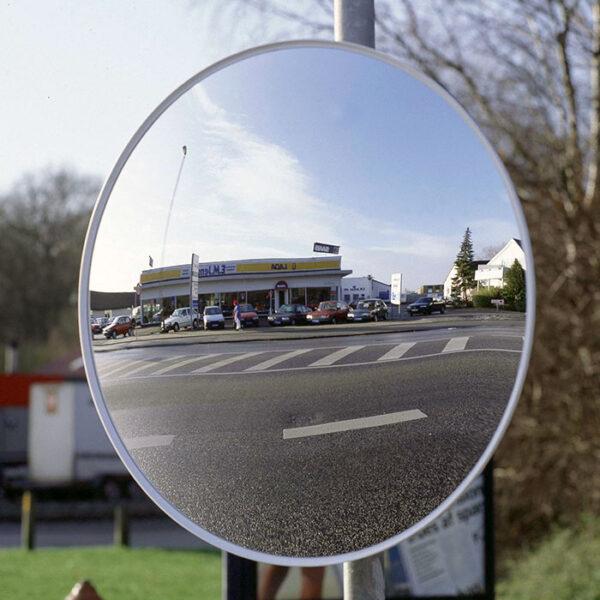 konveks udendørsspejl