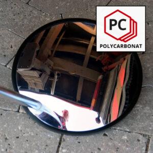 inspektionsspejl af polycarbonat